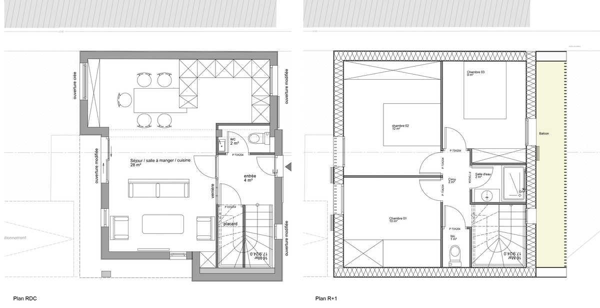 logement 01 - plan