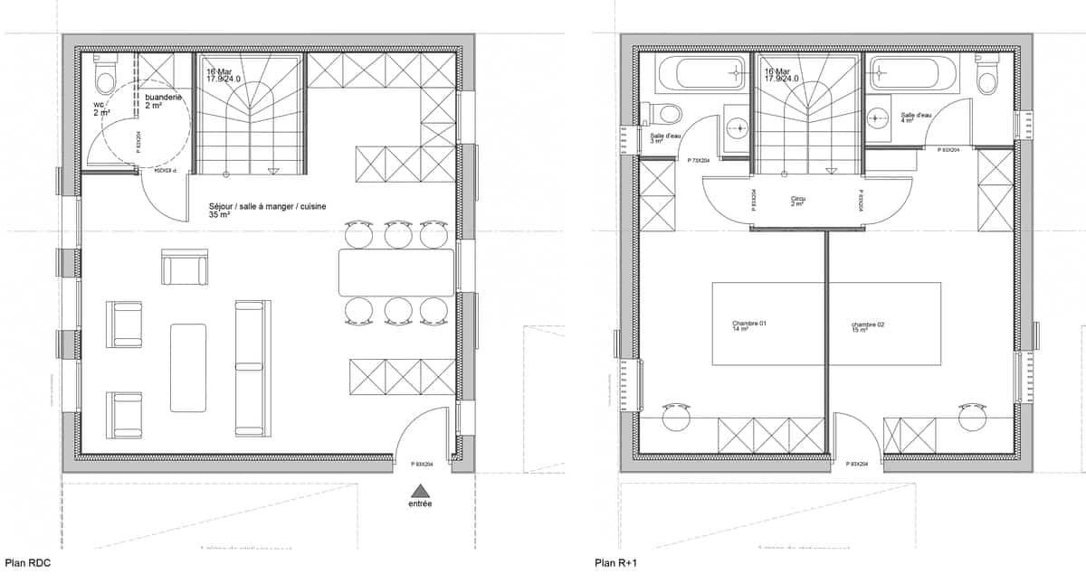 logement 02 - plan